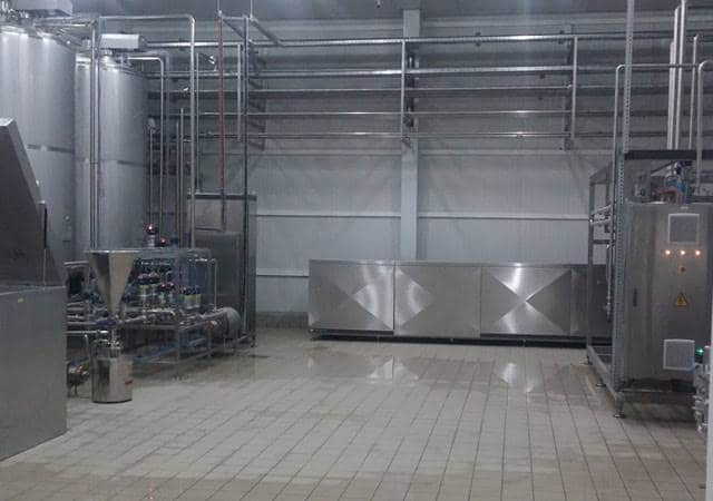 Dairy factory in Iraq AS Hellas