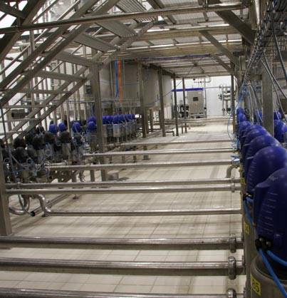 Valves - KRI-KRI yogurt factory