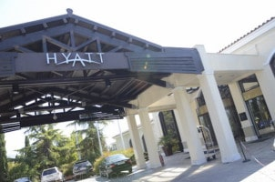 HYATT Hotel entrance