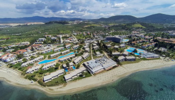 Ikos resorts aerial photo
