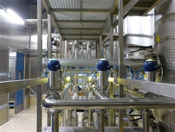 CIP for cheese plant by AS Hellas